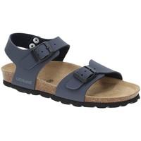 Boty Chlapecké Sandály Grunland SB0901 Modrý