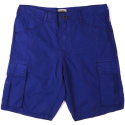 Textil Muži Kraťasy / Bermudy Napapijri N0YHF6 Modrý