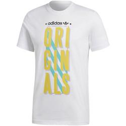 Textil Muži Trička s krátkým rukávem adidas Originals CD6837 Bílý