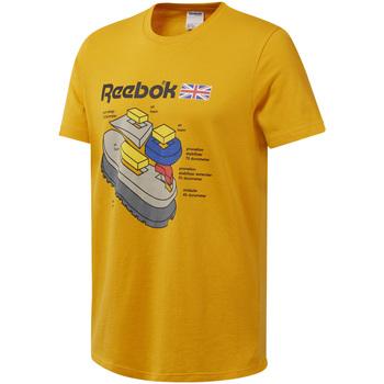 Textil Muži Trička s krátkým rukávem Reebok Sport DT8125 Žlutá