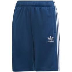 Textil Děti Kraťasy / Bermudy adidas Originals DW9297 Modrý