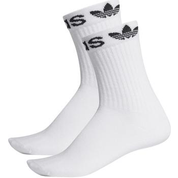 Spodní prádlo Ponožky adidas Originals ED8730 Bílý