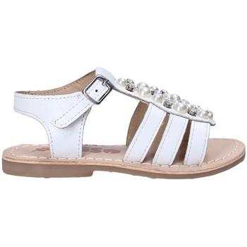 Boty Dívčí Sandály Asso 65954 Bílý