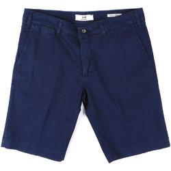 Textil Muži Kraťasy / Bermudy Sei3sei PZV132 8137 Modrý