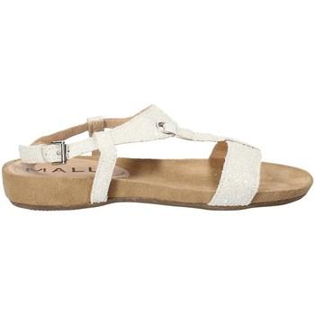 Boty Ženy Sandály Mally 4681 Bílý