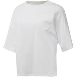Textil Ženy Trička s krátkým rukávem Reebok Sport DU4048 Bílý