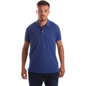 Textil Muži Polo s krátkými rukávy Navigare NV82086 Modrý