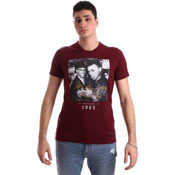 Textil Muži Trička s krátkým rukávem Gaudi 921BU64003 Červené