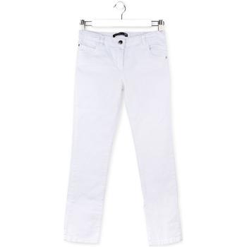 Textil Děti Kapsáčové kalhoty Losan 714 9650AB Bílý