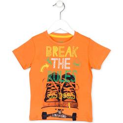 Textil Děti Trička s krátkým rukávem Losan 715 1214AC Oranžový
