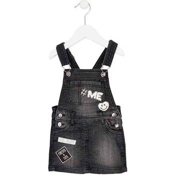 Textil Dívčí Overaly / Kalhoty s laclem Losan 726 7012AD Černá