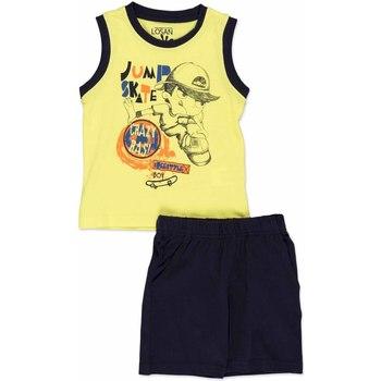 Textil Děti Set Losan 815-8042AC Žlutá