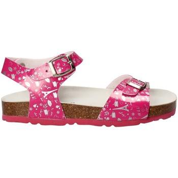 Boty Dívčí Sandály Bamboo BAM-10 Růžový