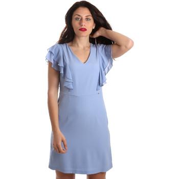 Textil Ženy Krátké šaty Gaudi 911FD15050 Modrý
