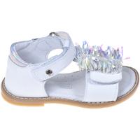 Boty Děti Sandály Melania ME8009B9E.A Bílý