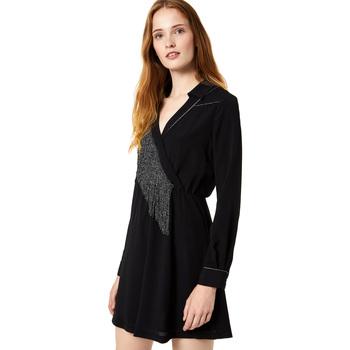 Textil Ženy Krátké šaty Liu Jo F69292 T9121 Černá