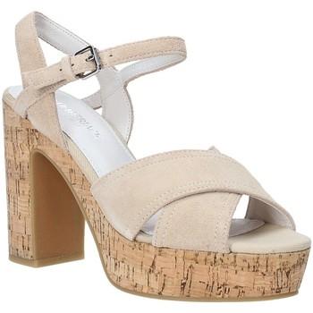 Boty Ženy Sandály Lumberjack SW39906 002 A01 Béžový