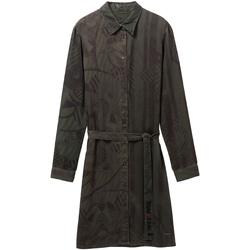 Textil Ženy Krátké šaty Desigual 19WWVW69 Zelený