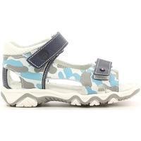 Boty Děti Sandály Melania ME8105B6E.B Bílý