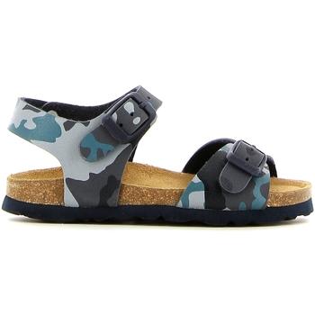 Boty Dívčí Sandály Grunland SB0169 Modrý