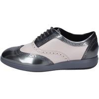 Boty Ženy Šněrovací společenská obuv Hogan Classiche Pelle Grigio