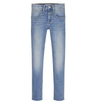 Textil Dívčí Rifle skinny Calvin Klein Jeans SOLILA Modrá