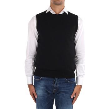 Textil Muži Svetry / Svetry se zapínáním La Fileria 14290 55168 Černá