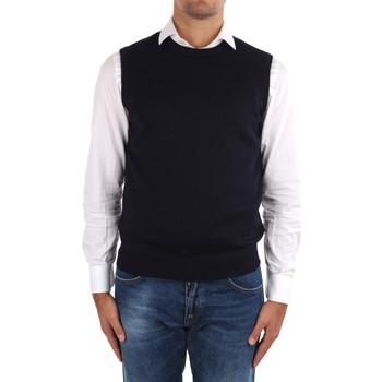 Textil Muži Svetry / Svetry se zapínáním La Fileria 14290 55168 Modrá