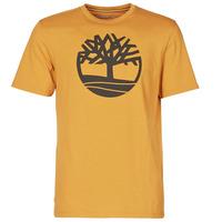 Textil Muži Trička s krátkým rukávem Timberland SS KENNEBEC RIVER BRAND TREE TEE Velbloudí hnědá