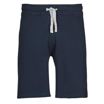Textil Muži Kraťasy / Bermudy U.S Polo Assn. TRICOLOR SHORT FLEECE Modrá