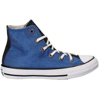 Boty Děti Kotníkové tenisky Converse 659965C Modrý