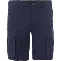 Textil Muži Kraťasy / Bermudy The North Face NF0A4CALH2G1 Modrý