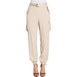 Textil Ženy Cargo trousers  Gaudi 011FD25018 Béžový