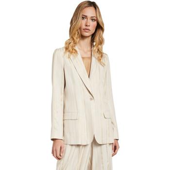Textil Ženy Saka / Blejzry Gaudi 011FD35011 Béžový