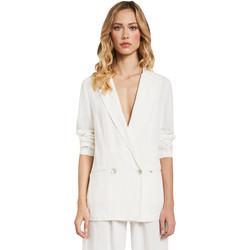 Textil Ženy Saka / Blejzry Gaudi 011FD35012 Bílý