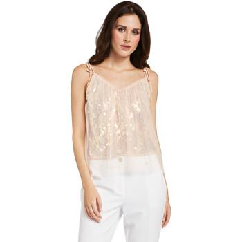Textil Ženy Halenky / Blůzy Gaudi 011FD45036 Růžový