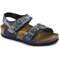 Boty Chlapecké Sandály Birkenstock 1004917 Modrý