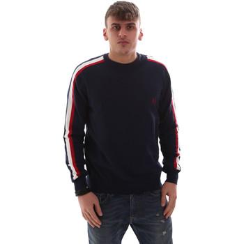 Textil Muži Svetry U.S Polo Assn. 52469 52612 Modrý