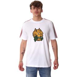 Textil Muži Trička s krátkým rukávem Sprayground 20SP032WHT Bílý