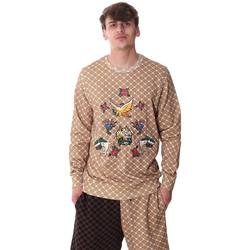 Textil Muži Mikiny Sprayground 20SP025 Béžový