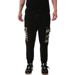 Textil Muži Cargo trousers  Sprayground 20SP017 Černá