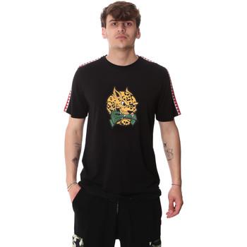 Textil Muži Trička s krátkým rukávem Sprayground 20SP032BLK Černá