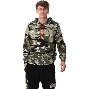 Textil Muži Mikiny Sprayground 20SP008 Zelený