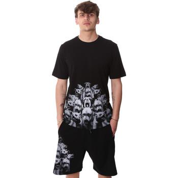 Textil Muži Trička s krátkým rukávem Sprayground 20SP012 Černá