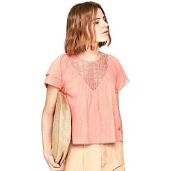 Textil Ženy Halenky / Blůzy Pepe jeans PL303306 Růžový