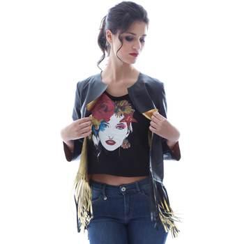 Textil Ženy Saka / Blejzry Grace Shoes DF131 Černá