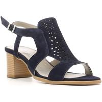 Boty Ženy Sandály Keys 5414 Modrý