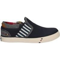 Boty Děti Street boty Wrangler WJ17103 Modrý