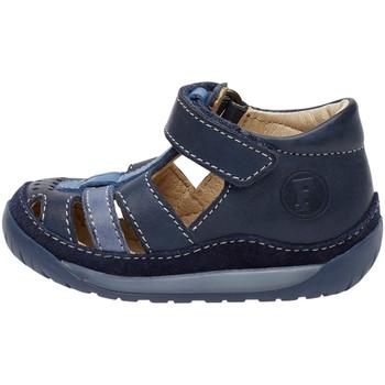 Boty Děti Sandály Falcotto 1500811 01 Modrý