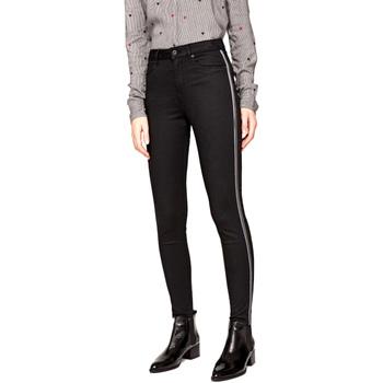 Textil Ženy Rifle slim Pepe jeans PL2031380 Černá